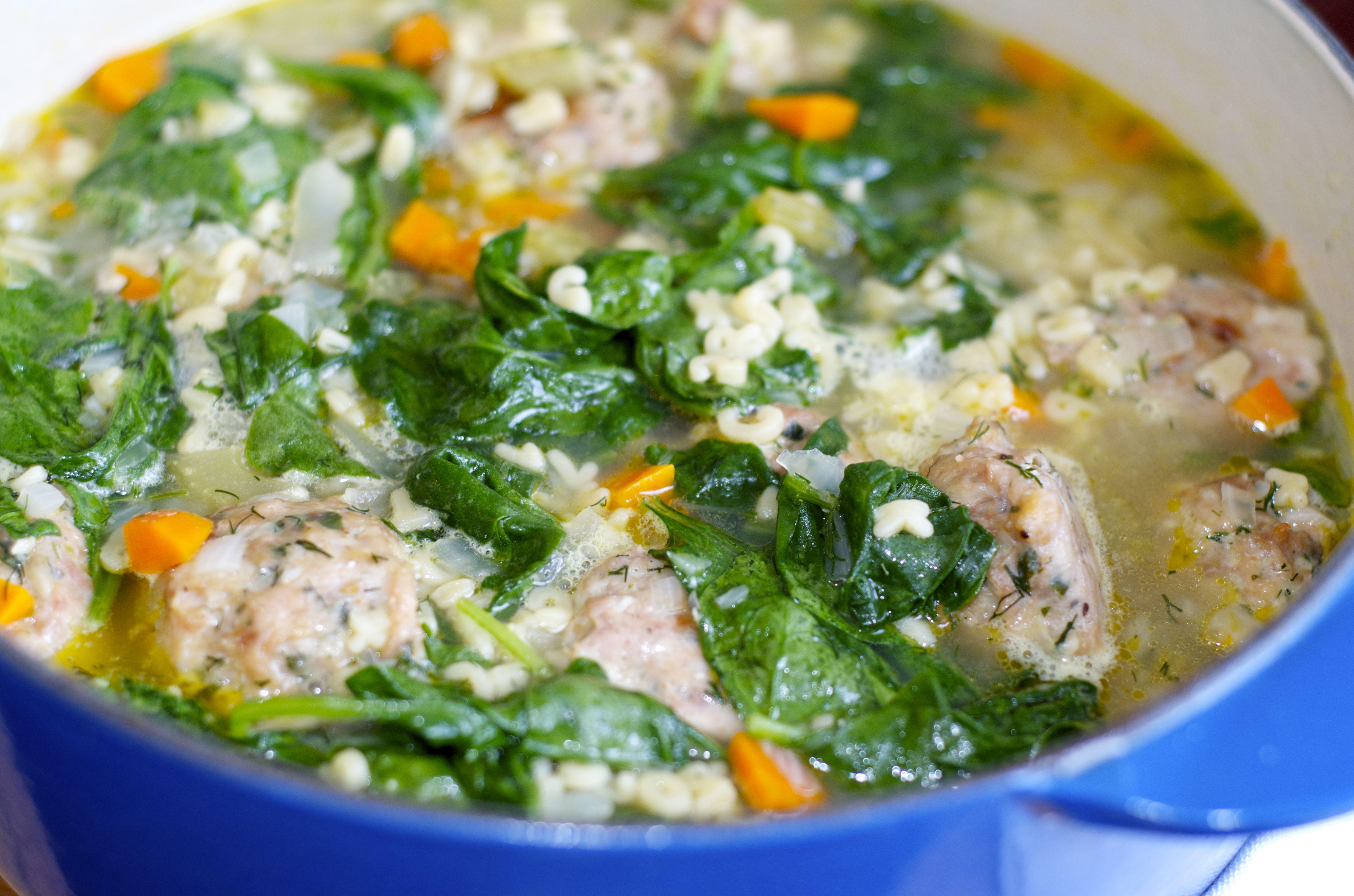 Ina Garten S Italian Wedding Soup Http Www Pulsivefoo