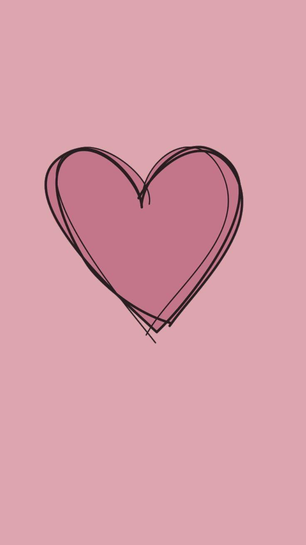 Pink Heart Click Here To Download Pink Heart Pink Heart Download Cute Wallpaper Pinterest Pink Heart Here Wallpaper Ponsel Kertas Dinding Kartu Bunga