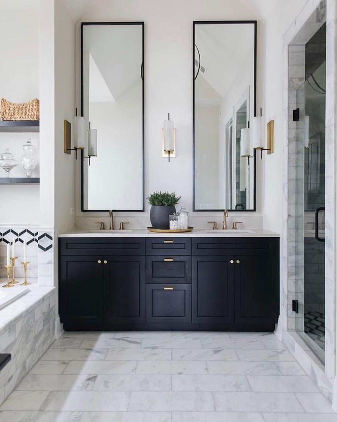 This Color Scheme Image Found On Pinterest Bath Bathroomdesign Painted Vanity Bathroom Bathroom Interior Design Bathroom Inspiration