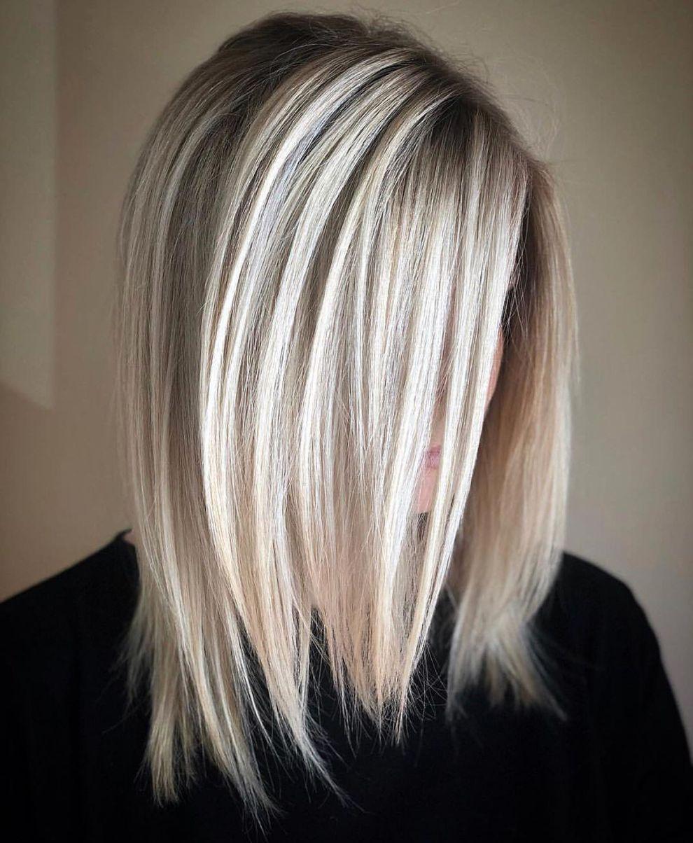 70 Perfect Medium Length Hairstyles For Thin Hair Hair Styles Long Hair Styles Hair Lengths