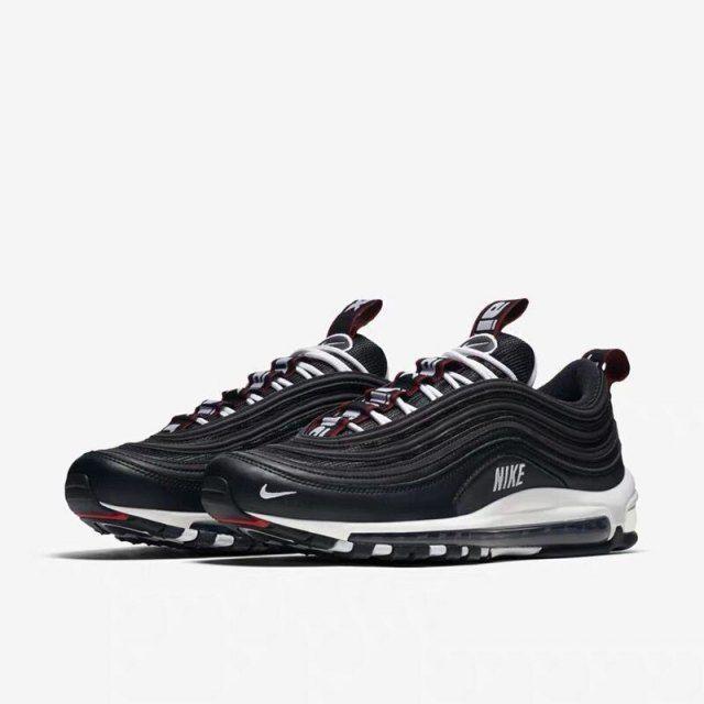 Nike Air Max 97 Schwarz Weiß 312834 008 Sneaker Herren