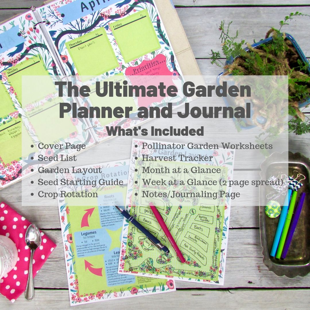 Ultimate Garden Planner And Journal Blues Instant
