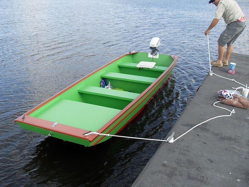 Jon boat Lawrence | Boat building plans, Boat, Wood boat plans