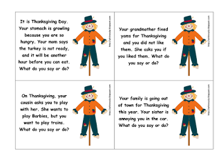 Thanksgiving Materials Galore!!!