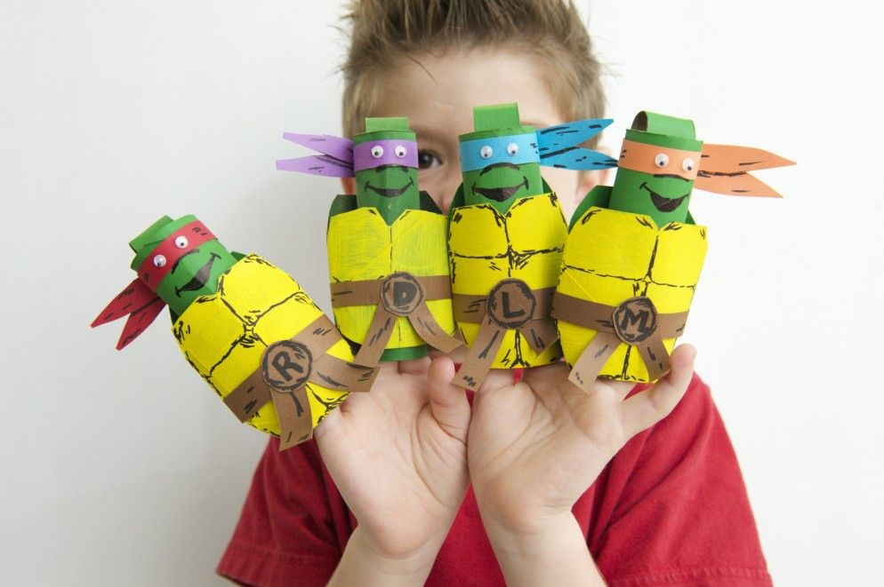 3d Craft Ideas For Kids Part - 21: Unbelievable Surprising Craft Projects With Toilet Paper Rolls: Terrific Craft  Ideas For Kids With Ninja