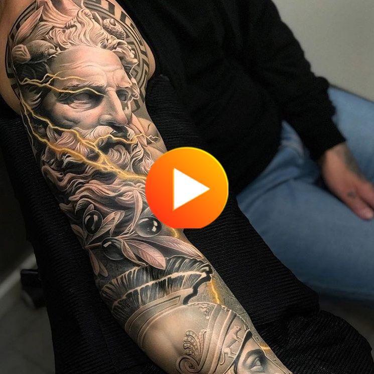 "@irezumii_classic on Instagram: ""Zeus🌞  #tattoo #tattoos #tattooed #tattooartist #tattooart #tattoolife #tattooedgirl #tattooedgirls #tattooist #tattooing #tattoodesign…"" #tattoo #amazingtattoos"