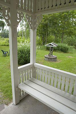 Kunterbunt schweden immobilien vermietung garten porch - Skandinavisches gartenhaus ...