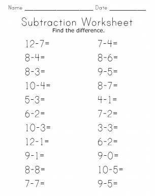 math worksheet : 1000 images about subtraction on pinterest : Free Subtraction Worksheets