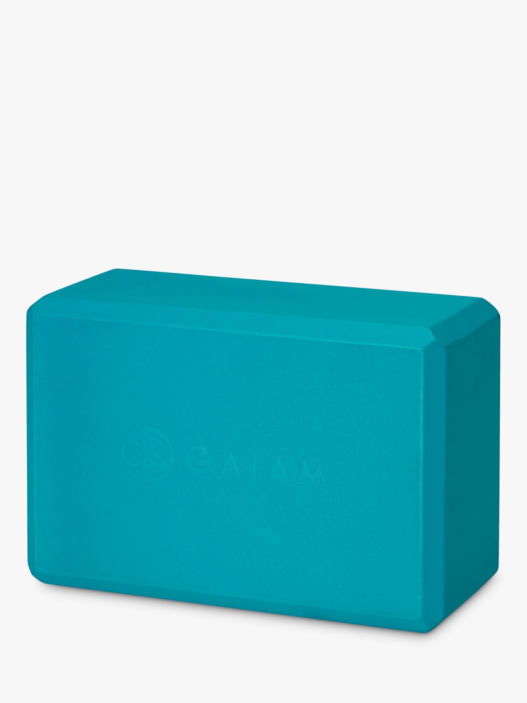Gaiam Essentials Yoga Block Vivid Blue