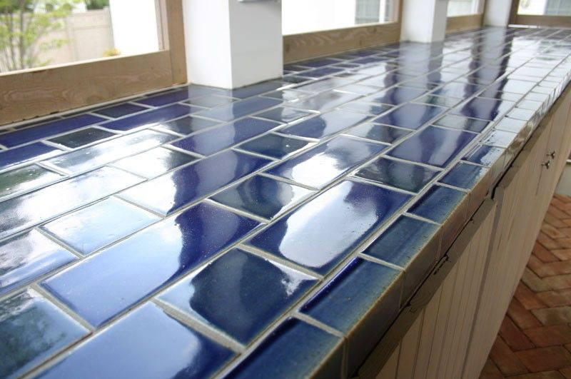 Regrout Kitchen Tile Counter