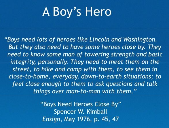 Boy Scout Essay With Quotes: I Love This Quote. I Found It While Studying Cub Scout