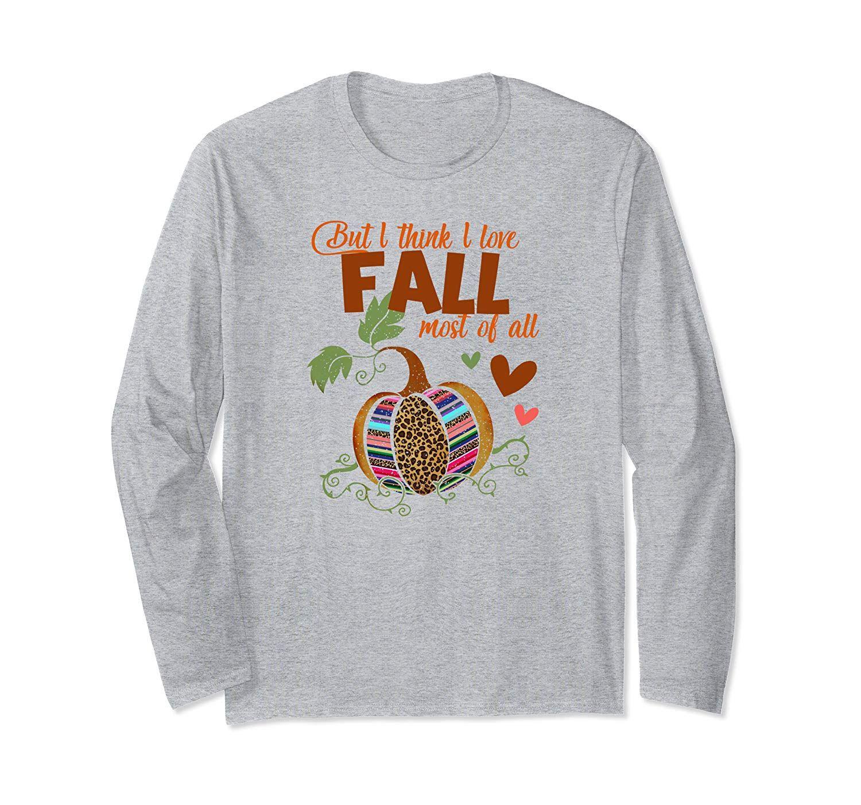 Download But I Think I Love Fall Most Of All Leopard Serape Pumpkin ...