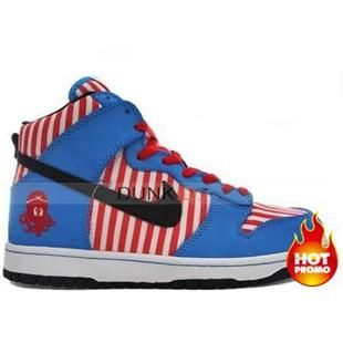 Dunk High Premium Osaka dotonbori Vivid Blue Black Red White  1f1e13261e00