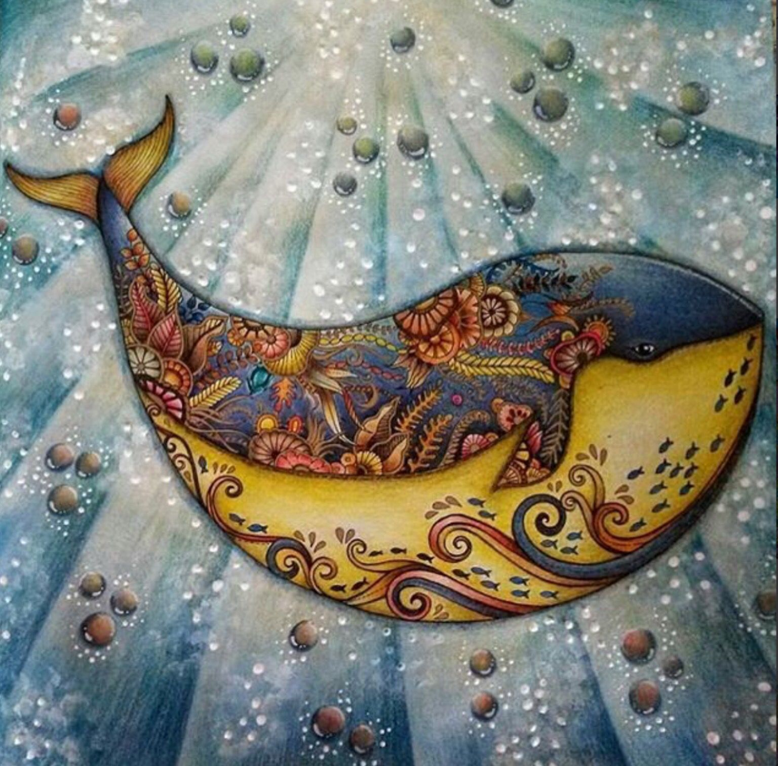 Lost Ocean Lost Ocean Coloring Book Johanna Basford Coloring Book Coloring Book Art