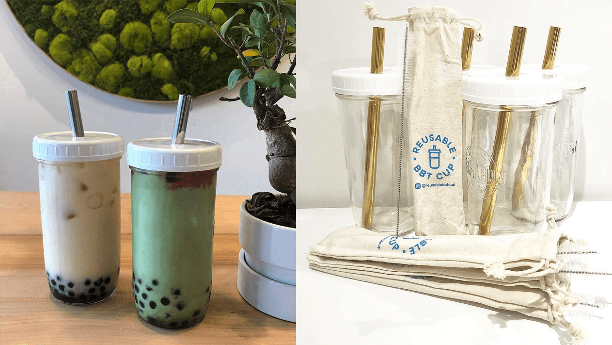 With The Consumption And Interest Of Bubble Tea Rising In Vancouver So Does The Concern Of Its Environmental Impact Bubble Tea Reusable Cups Bubble Tea Shop