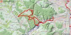 [Moselle] De Rombas à Mance Départ de Rombas en direction de Moyeuvre par la piste cyclable, histoire de s'échauffer. Puis direction Mance par les bois de Briey avec de jolis panoramas sur la vallée. Enfin, le retour se fait par Avril et Froidcul.