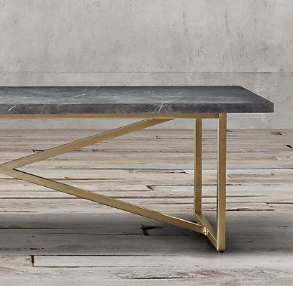 Torano Marble Rectangular Dining Table Rh Marble Dining