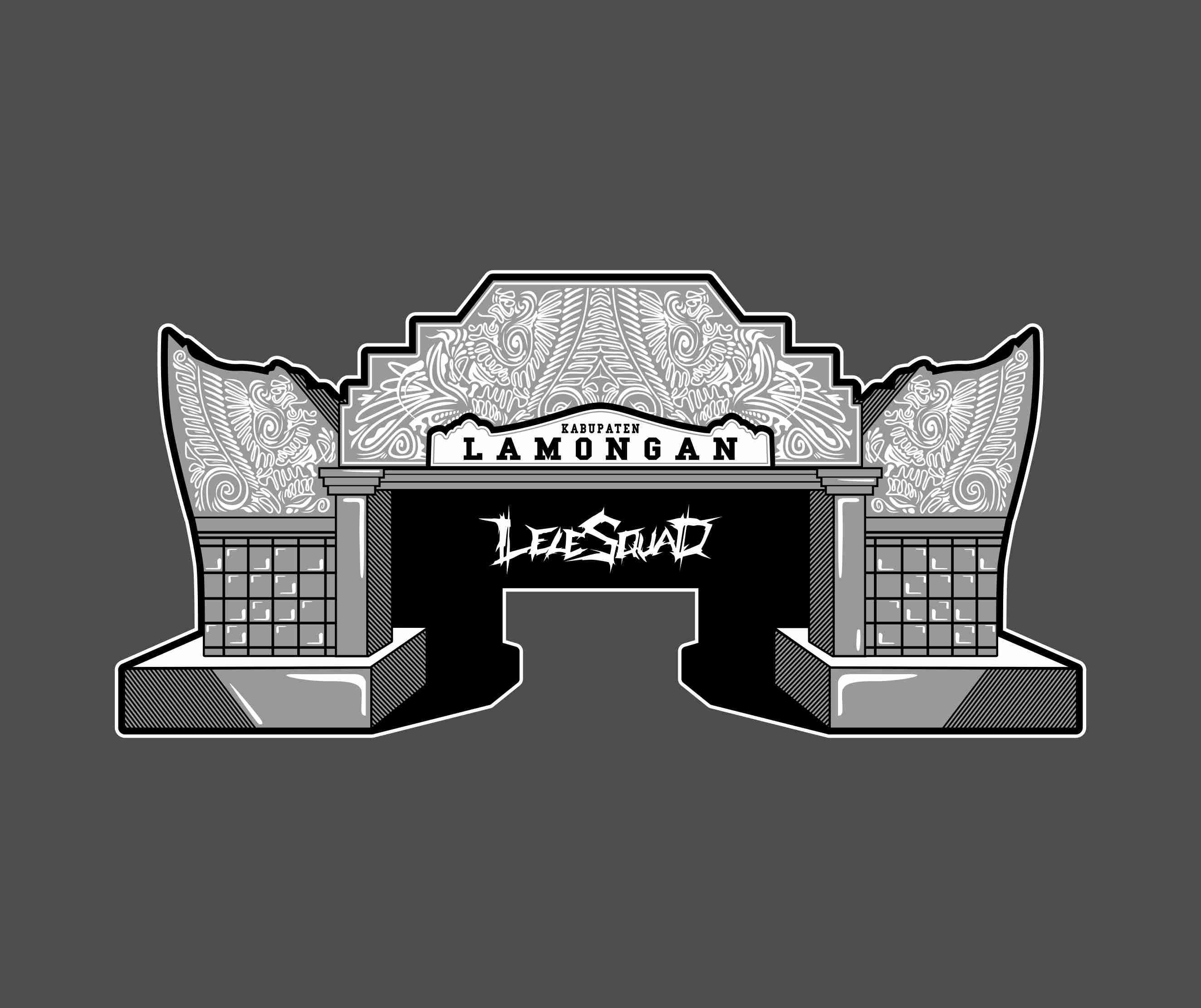 Gapura Lamongan Vector Thanks For Order Inspirasi Desain Logo Desain Logo Seni Grafis