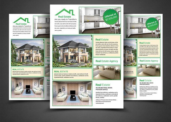 Real Estate Flyer Template | Pinterest