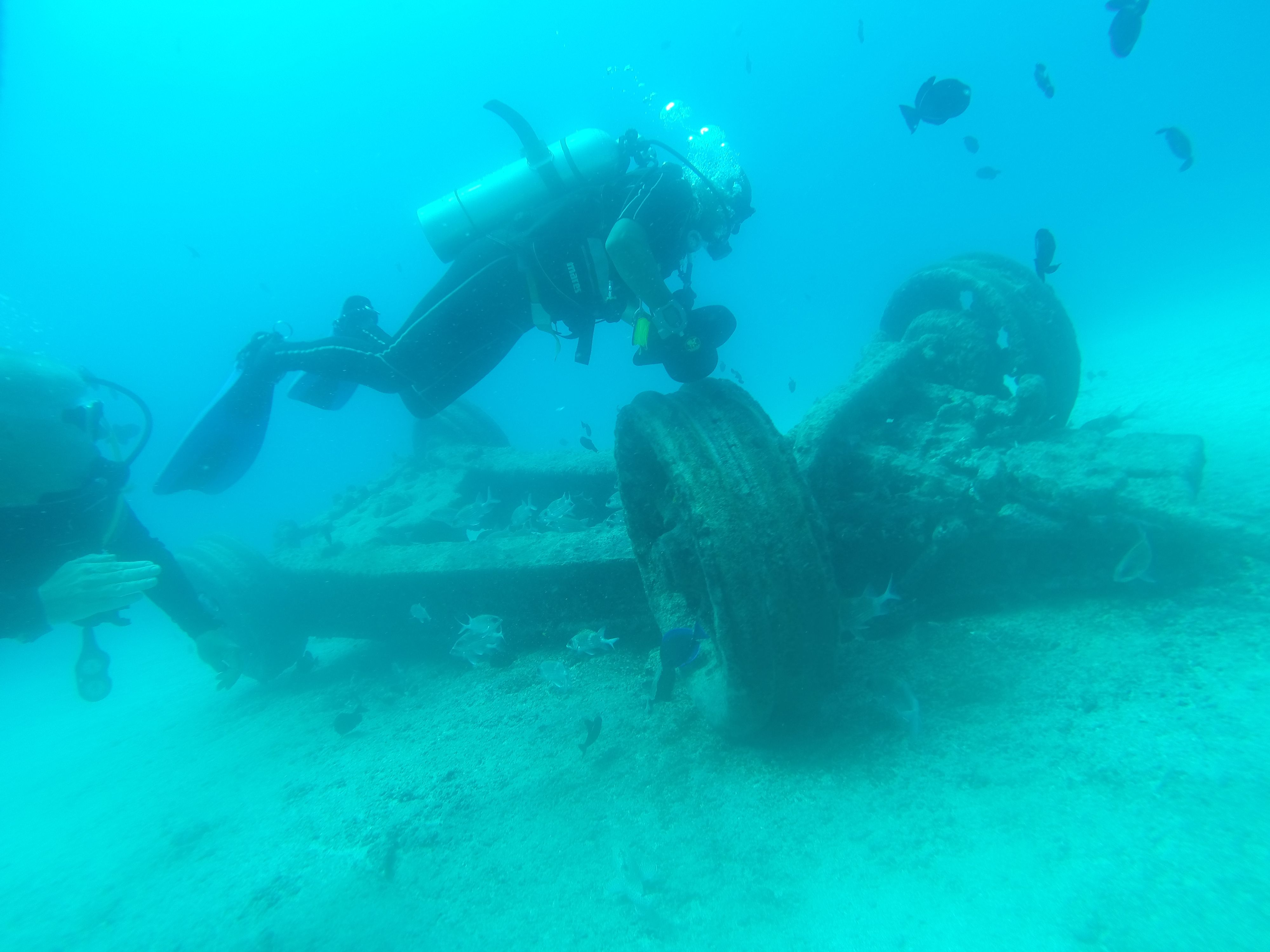 Ascension Island Exped: vehicle wreck