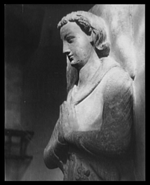 Figure on the Tomb, The Cloisters, NYC 1938