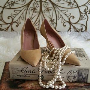 Coach Shoes - Nude Alison Coach Pumps