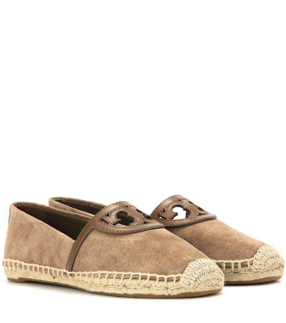 bbd0d37d65c TORY BURCH Sidney Suede And Leather Espadrilles.  toryburch  shoes  flats