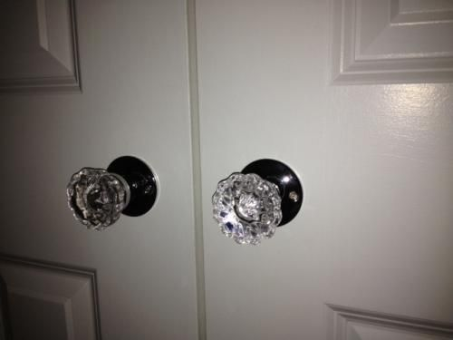Update The Door Hardware In Your Home Using This Stylish Chrome Glass Door  Knob With Spindle Designed By Prime Line.