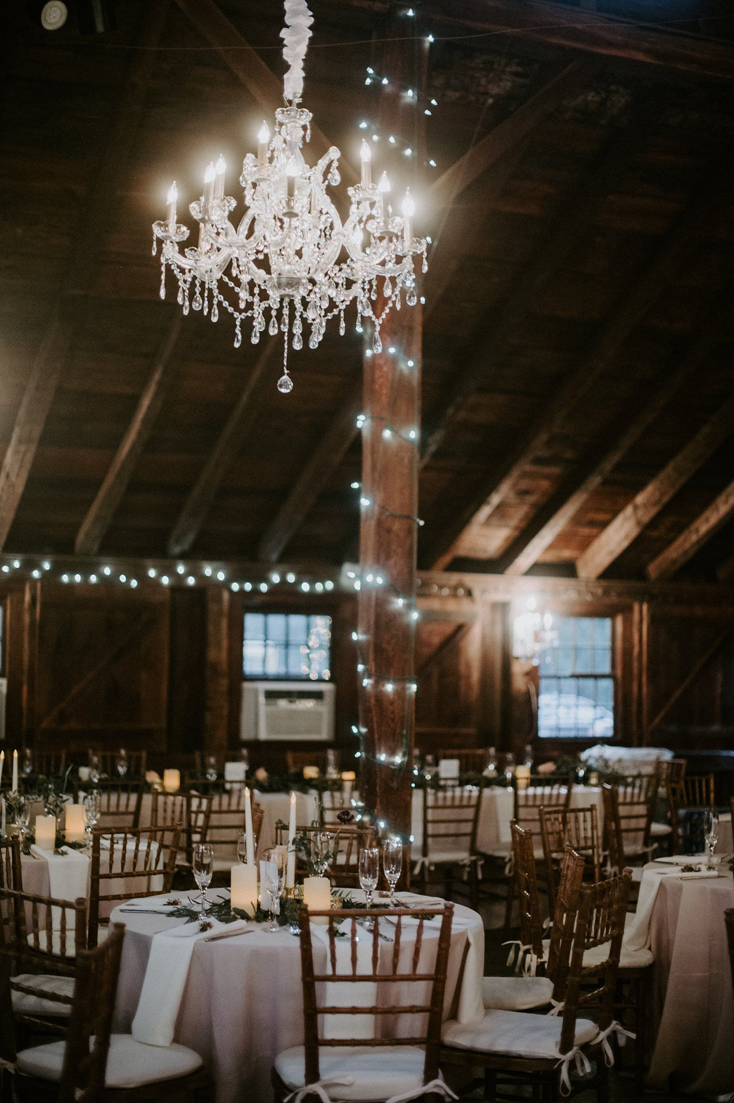 Glamorous And Rustic Wedding With Draping And Chandeliers At The Webb Barn In Wethersfield Ct Barn Wedding Connecticut Wedding Wedding Event Space