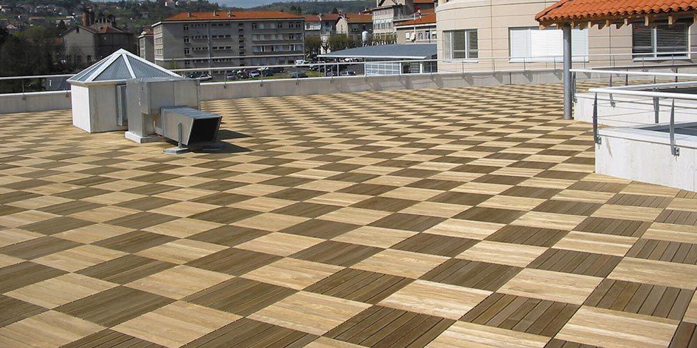 Pose terrasse en dalles sur plot     wwwtravauxbricolagefr