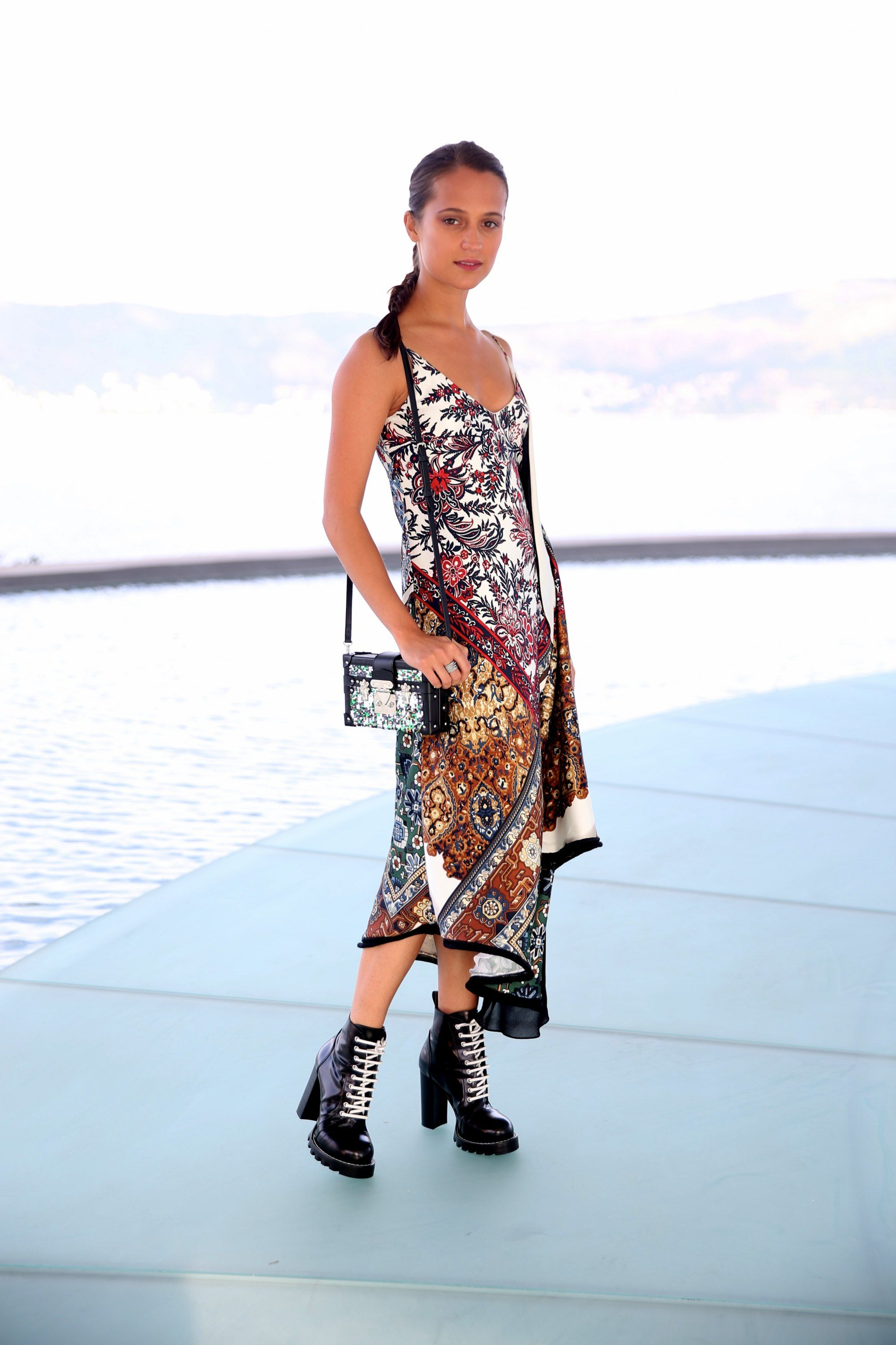 667c3305ee Alicia Vikander – Louis Vuitton's 2017 Cruise Collection show, Rio ...