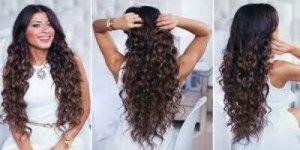 تسريحات شعر بالفير للشعر الطويل Hair Styles Luxy Hair Perfect Curls