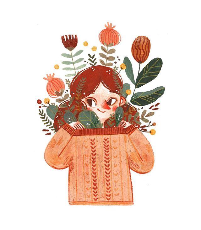 Monа K • Illustrator ⚘ (ghost_puff) • Instagram photos
