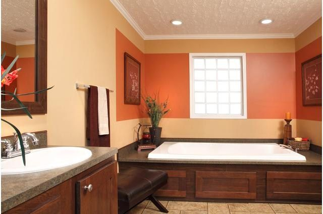 Mobile Home Remodeling Ideas   Clayton Rutledge Homes.. I love the wood detailing on the side of ...