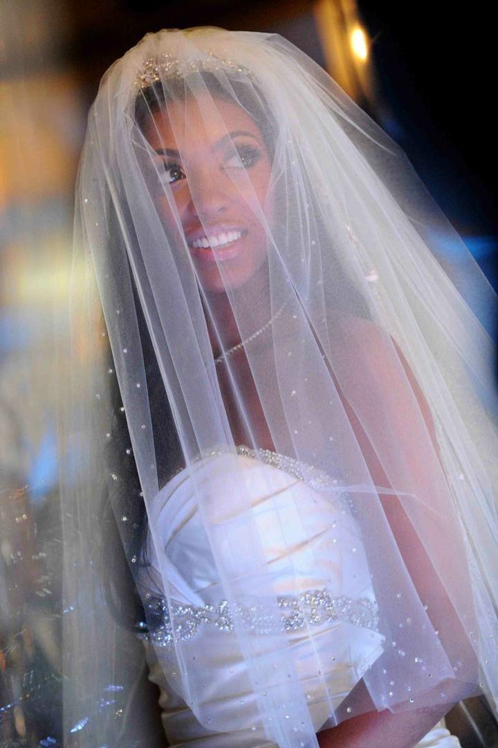 Real Wedding Of Rhoa S Porsha Williams Kordell Stewart Inside Weddings Glamorous Bride Wedding Wedding Dresses
