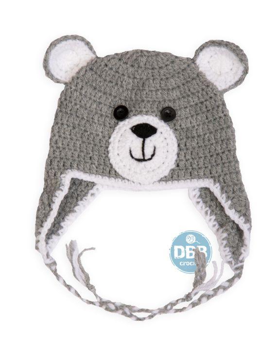 Gorros hechos a crochettodas las tallaslana de la mejor calidadtall ...