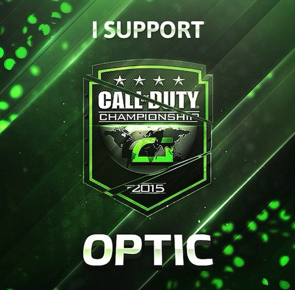 Support Banner For Optic Gaming.