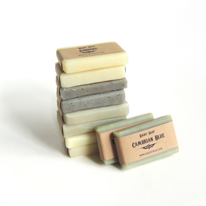 Guest Soap Gift Set for Men - Mens Travel soap, Groomsmen Gift ...