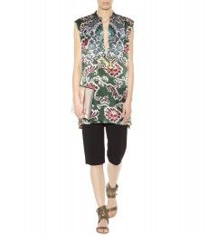 Dries Van Noten - Carleen printed tunic - mytheresa.com