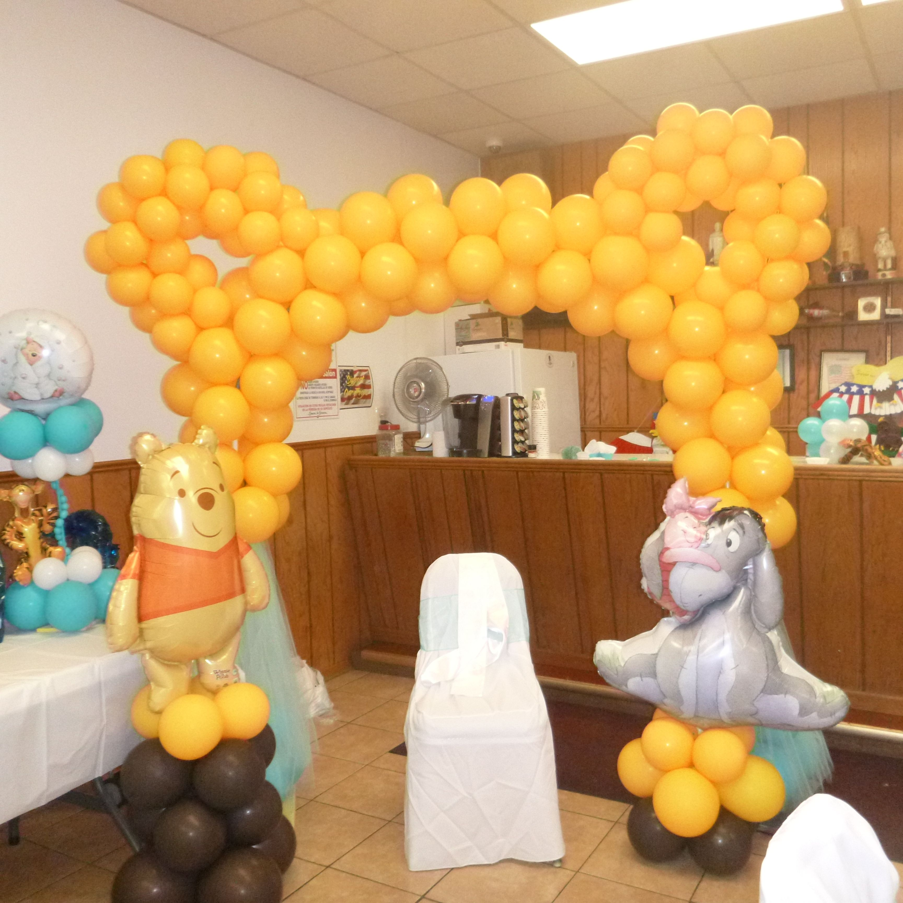 rosielloons baby shower balloons decor Pinterest