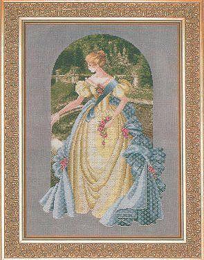 Lavender Lace Queen Anne S Lace Cross Stitch Vintage Cross