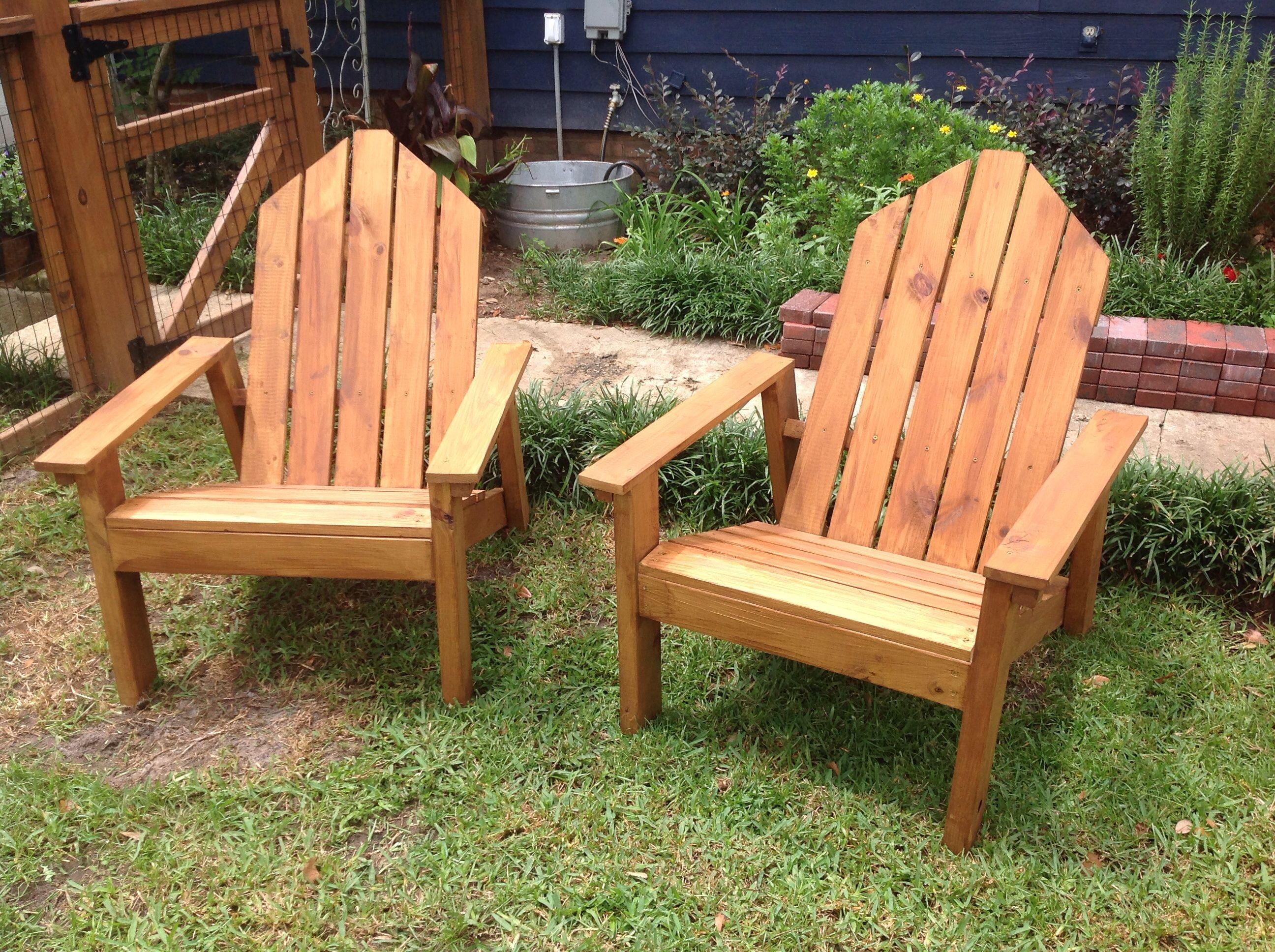 Ana White Adirondack chairs! DIY Projects Adirondack