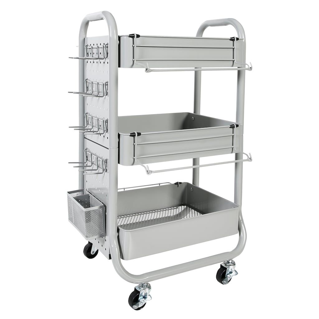 Gramercy rolling cart by simply tidy rolling cart art