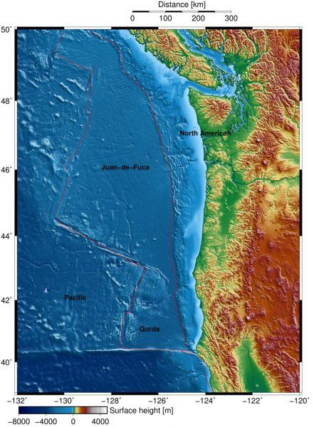 Scientists map source of Northwest's next big quake | Geology Page