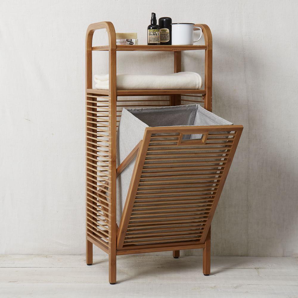 mueble con bolsa para ropawest elm