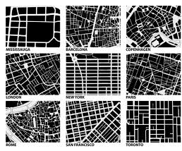 Nollis Map Of Cities Architecture Design Pinterest Site