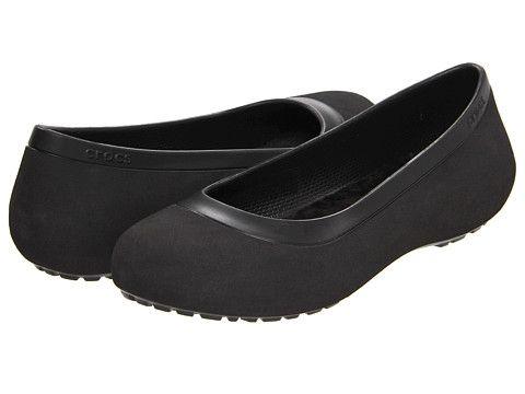 72470fd8c92e5 Crocs Mammoth Flat Black Black - 6pm.com - OMG  3