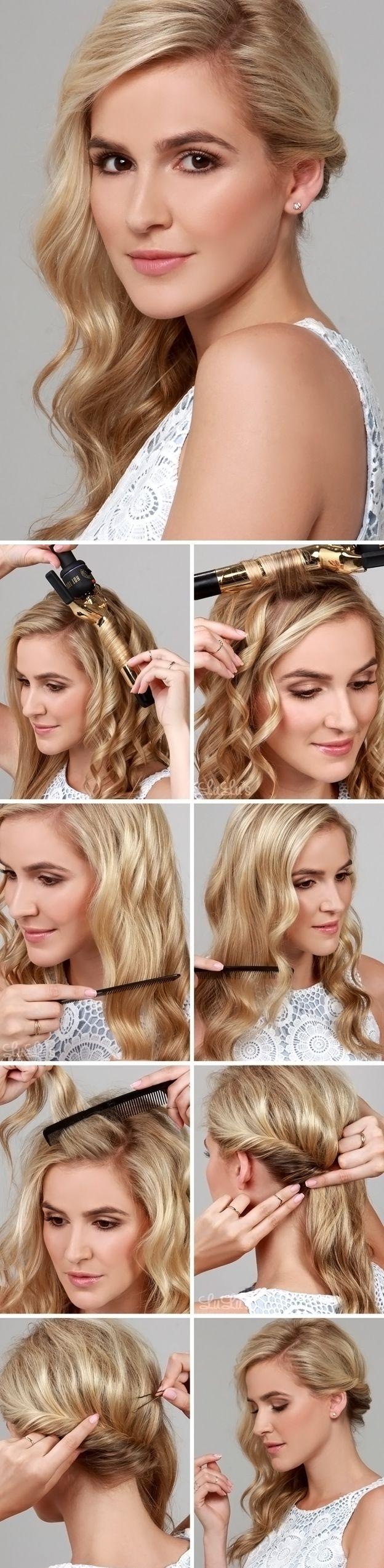 3 Cute Hairstyle Tutorials for Medium Length Hair | MakeUp ...