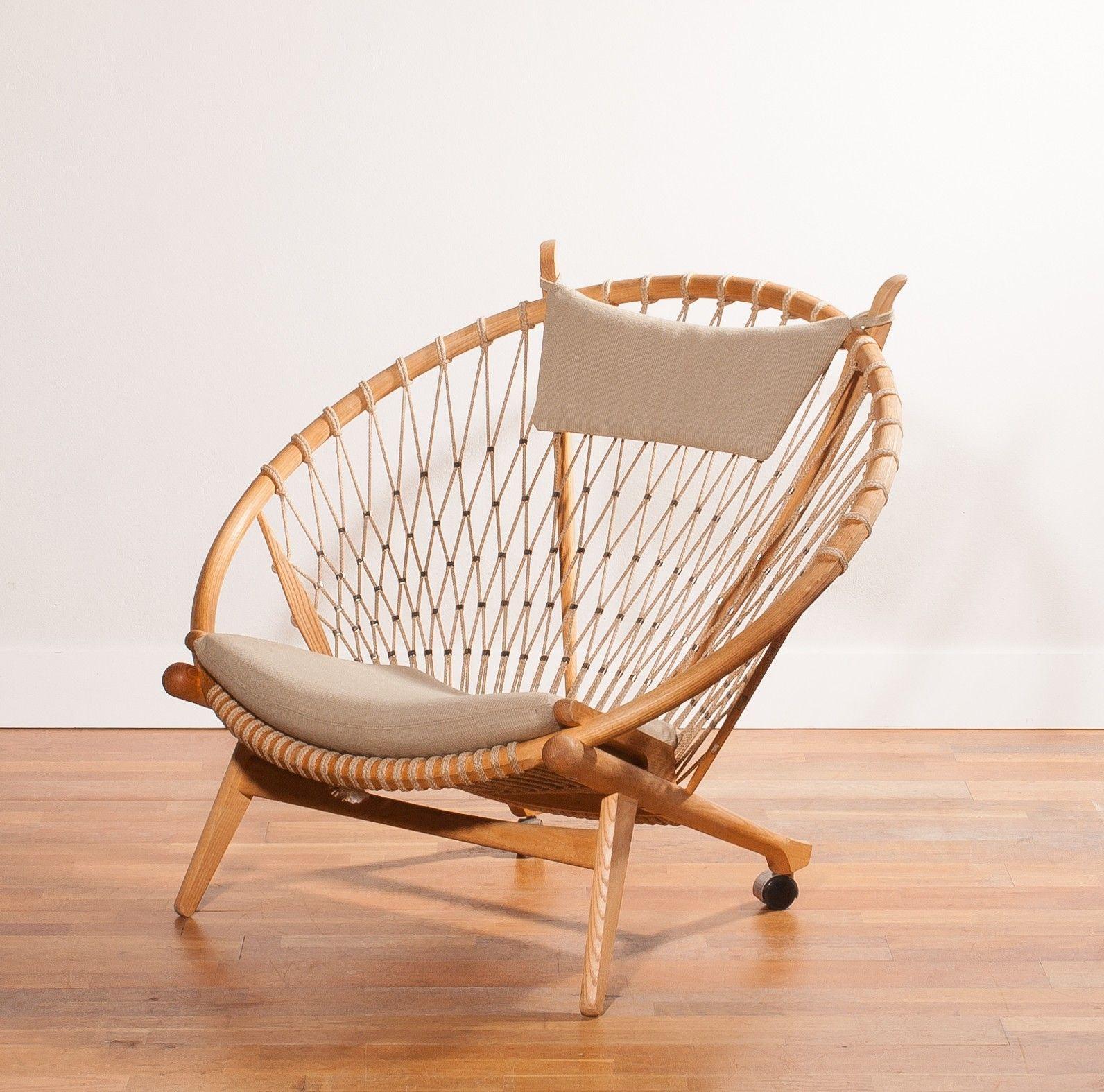 """mid century pp mobler """"circle"""" chair, hans j. wegner - 1980s"""