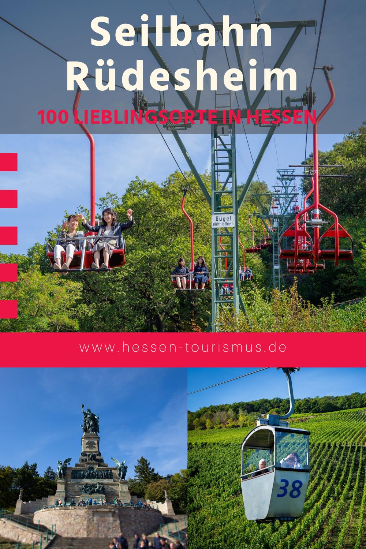 Mit Der Seilbahn Rudesheim Uber Die Weinreben Schweben 100 Lieblingsorte In Hessen Familienurlaubsziele Bingen Am Rhein Reisen Deutschland